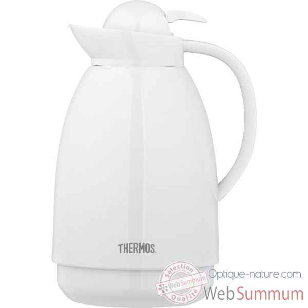 Thermos carafe isotherme 1.5 l blanc - patio Cuisine -13468