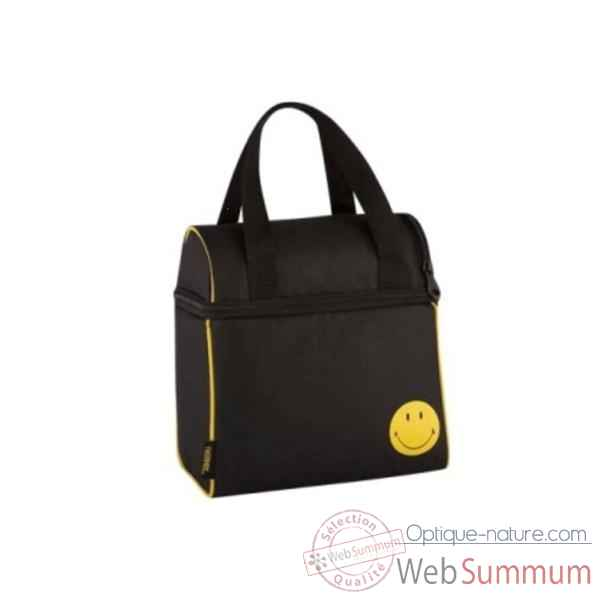 Thermos sac isotherme 4 l noir - smiley lunch -006787
