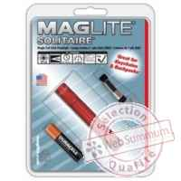 Mag led solitaire rouge blister -K3A036U