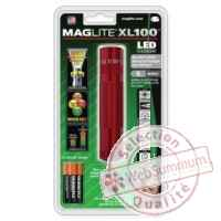 Mag led xl100 rouge blister -S3036